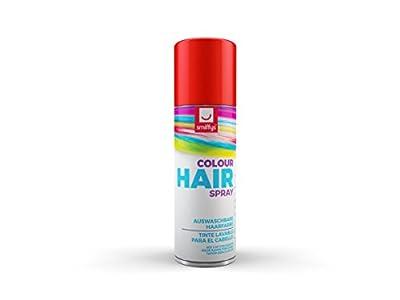 Smiffy's-Spray de Color para Pelo, Rojo, 125ml, r (052R)