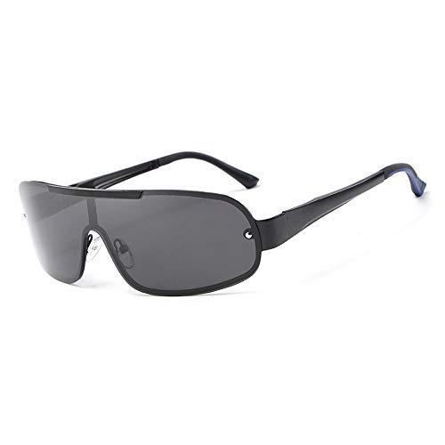 Yeeseu Gafas de sol de las gafas de sol for hombre de la conducción del conductor gafas de sol gafas gafas de moda (Color: gris oscuro, tamaño: Libre) Ciclismo, Correr, Pesca, Pesca, Senderismo, Sende