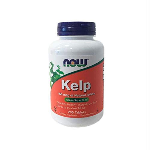 Now Foods Kelp, 150mcg of Natural Iodine, 200 Tablets