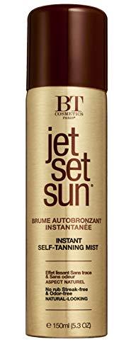 JET SET SUN - Brume Bronzante Instantanée, Visage et Corps, Spray Autobronzant 150ml