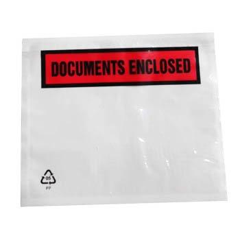 Realpackâ ® 100 x A5 gedrukte documenten Enclosed – zorg ervoor dat leveringsbonnen en facturen de bijbehorende goederen goed beschermd en begrijpelijk gratis snelle verzending