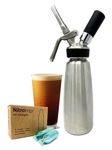 Nitroknox Dispenser with nitrogen cartridges