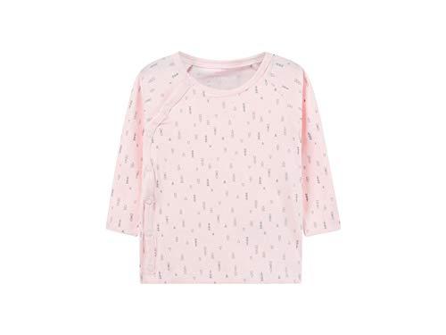 Name It Nbndelucious Ls Wrap Top Noos T-Shirt, Rose (Ballerina), 74 Mixte bébé