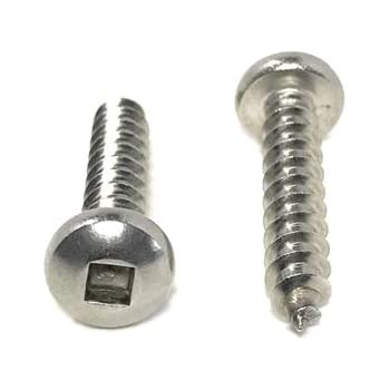 100-Pack The Hillman Group 80157 4-Inch x 1-Inch Flat Head Phillips Sheet Metal Screw