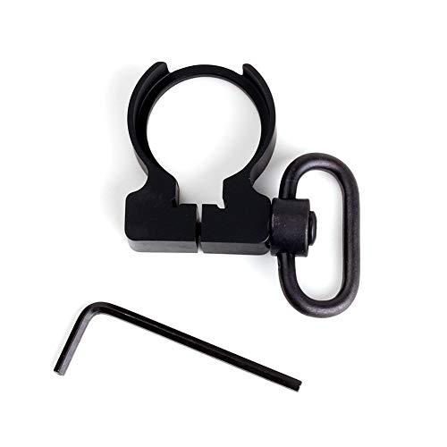 Lejie Quick Detach QD Endplatte Sling Swivel Adapter Halterung für die Jagd .223/5.56 Karabiner AR15 M4 Gewehr