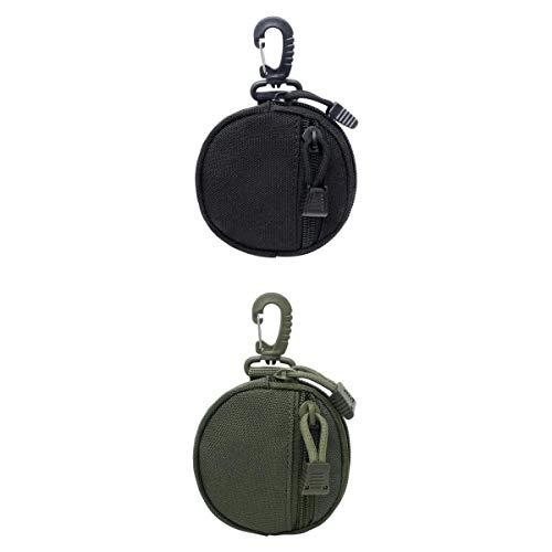 T TOOYFUL 2X Outdoor Wallet Schlüsseltasche Accessory Bag pequeños MOLLE Gürteltaschen