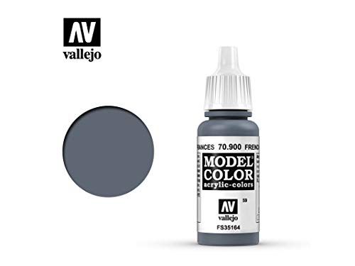Farbe Vallejo Model Color 70900 French Mirage Blue (17ml)