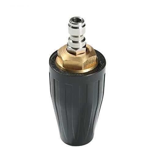 Rotierende Turbodüse Keramikkern 360 ° -Reinigerpistole Zubehör Schnellkupplung Für Die Autowaschanlage Für Hochdruckreiniger (Black-3000)