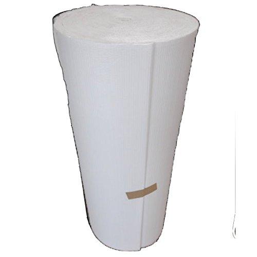 白クラフト巻き段1000mm×50m