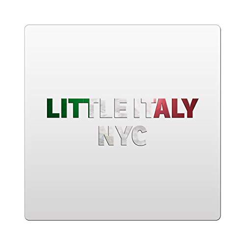 Makoroni - Little Italy NYC Italy Italian Des#2 Ceramic Tile Trivet 4.25x4.25 inc