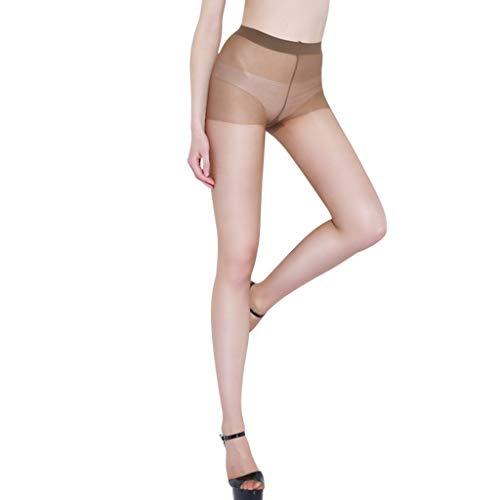 N-B Medias Sexy Mujer Lenceria Transparente Delgado Talla única Super Elástico Ligero Leggins de Cintura Alta Suave