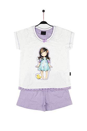 SANTORO LONDON - Pijama Santoro niña Little Duck Niñas Color: Crudo Talla: 10