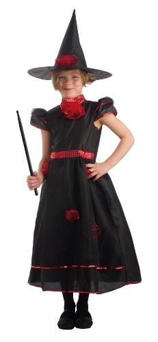 Caritan - 59185 - Costume - Cappello Strega con la bacchetta ed lusso Nella causa 8-10
