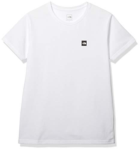[ザノースフェイス] Tシャツ ショートスリーブスモールボックスロゴティー レディース ホワイト 日本 S (日本サイズS相当)