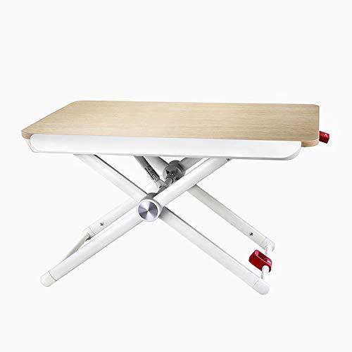 Preisvergleich Produktbild einstellbar Computertisch,  klappbarer Laptop-Schreibtisch mit Hubfunktion,  Stehpult mit Multifunktion Kann gedreht Werden