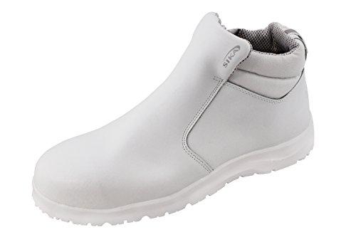 Sika 19241 Fusion S2 SRC Stiefel - Ideal für die Pharma und Lebensmittelindustrie - Weiß - Gr. 43
