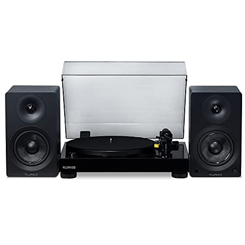 Fluance RT80 Classic High Fidelity Vinyl Turntable with Ai41 Powered 5