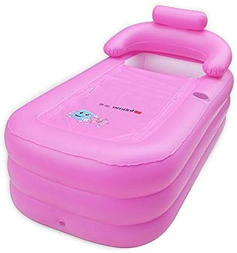 Dongwenchao1104 Bath Piscine Grande Taille Adulte portable Gonflable épaississeHommest Baignoire Pliant Famille Baignoire 160X84X64Cm A