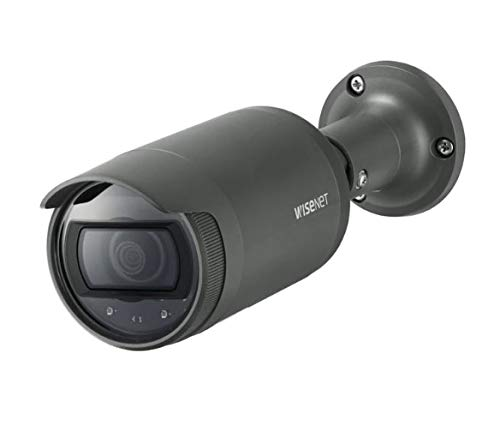 Hanwha Techwin LNO-6012R 2MP Outdoor Network Bullet Camera with Night Vision, 2.8mm Fixed Focal, RJ45 Connection