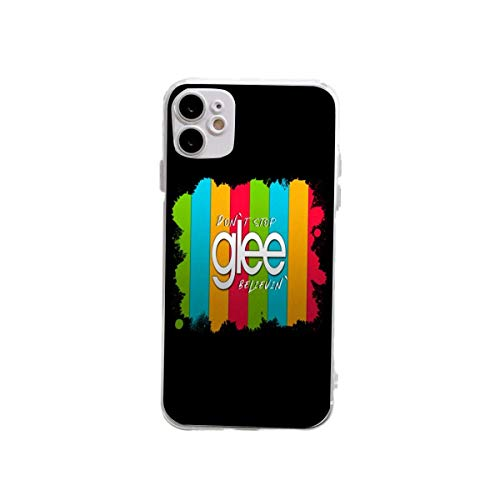 Glee TV Series Rainbow Style Fundas protectoras a prueba de golpes diseñadas para iPhone 12/12 Pro Cases