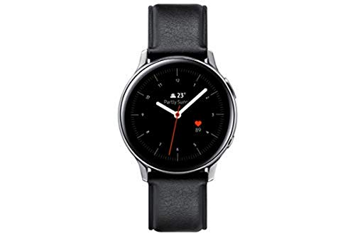 Samsung Galaxy Watch Active2 Stainless Steel, 40 mm, Bluetooth, Silber