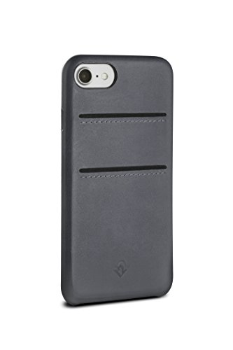 Twelve South RelaxedLeather 4.7' Funda Gris - Fundas para teléfonos móviles (Funda, Apple, iPhone 8/7, 11,9 cm (4.7'), Gris)
