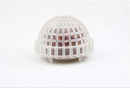 Aquarium Media Moss Ball Live Pflanzenfilter Filtration Decor (transparent, 1)