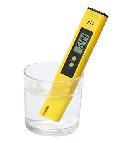 DOXMAL Digitales pH-Messgerät im Taschenformat für Wasserqualität, zum Testen von Wasser, Hydrokultur, Aquarien, Schwimmbädern