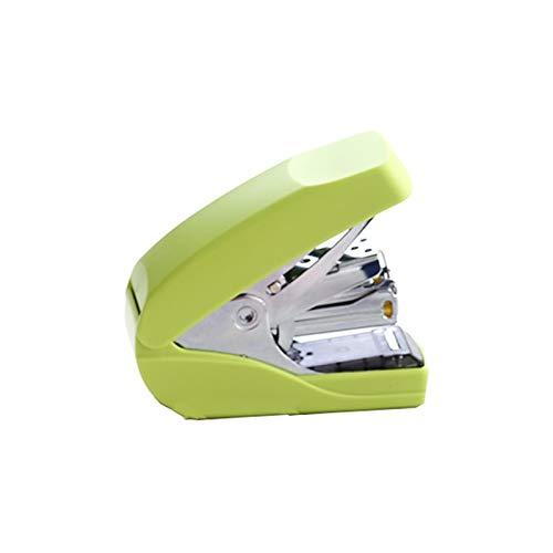 nietmachine, mini-nietmachine, bureau-nietmachine, capaciteit 32 vellen, één vinger, geen krachtsinspanning, veerbedrijf, thuisgebruik op school, meerdere kleuren AAA-nietmachine groen