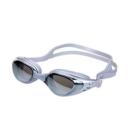 Gafas de natación Gafas de natación para hombres para hombres y mujeres anti-niebla unisex adulto natación gafas de baño Piscina Gafas deportivas Gafas Impermeable para hombres adultos mujeres jóvenes