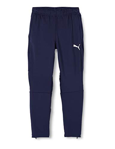 PUMA Kinder LIGA Training Pants Pro Jr Jogginghose, Peacoat White, 164