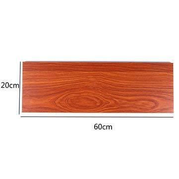 TuToy 20Cm Breed Ecologisch Hout Board Sheet Voor Wandopknoping Plank Woonkamer Boek Opslag, 60cm, 1