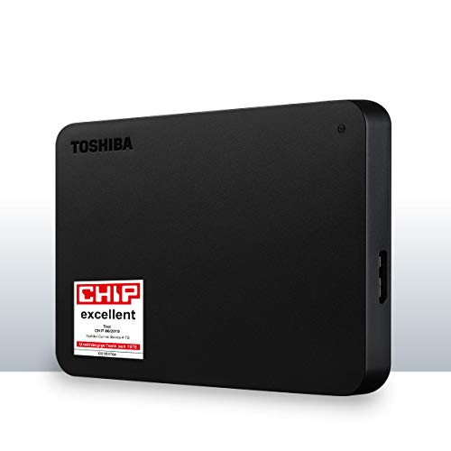 Toshiba Canvio Basics 4 To Noir