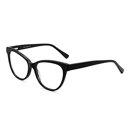 JIM HALO Anti Luz Azul Gafas de Computadora Ojos de Gato Ví