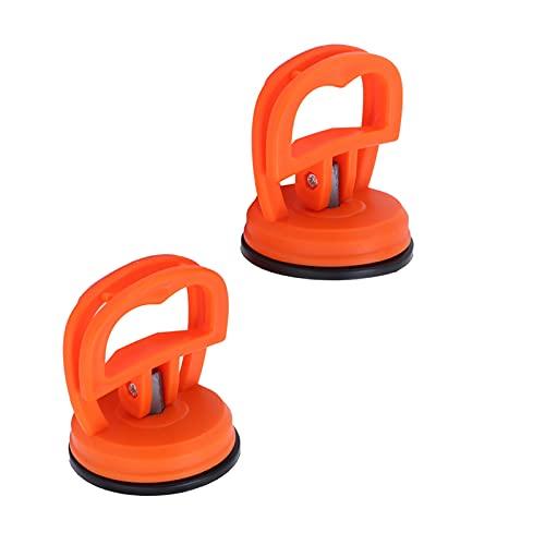 Les-Theresa 2pcs Elevador de ventosa Soporte de ventosa de vidrio Extractor de vidrio de mano Agarre eléctrico Elevador de vacío Abrazaderas de elevación Azulejos de vidrio Elevación de espejo