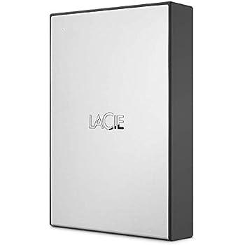 LaCie HDD ポータブルハードディスク 4TB USB 3.0 Drive シルバー 2年間保証 STHY4000800