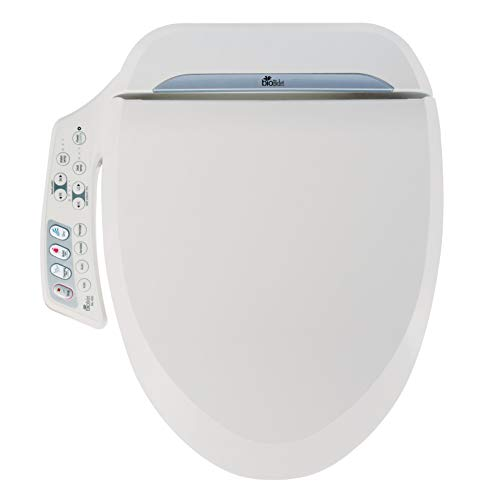 Enjoyable Bio Bidet Ultimate Bb 600 Advanced Bidet Toilet Seat Elongated White Easy Diy Installation Luxury Features From Side Panel Adjustable Heated Seat Inzonedesignstudio Interior Chair Design Inzonedesignstudiocom