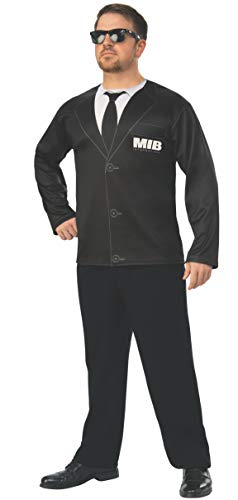 Rubie's Men in Black International Agent H Costume Top, As Shown, Extra-Large