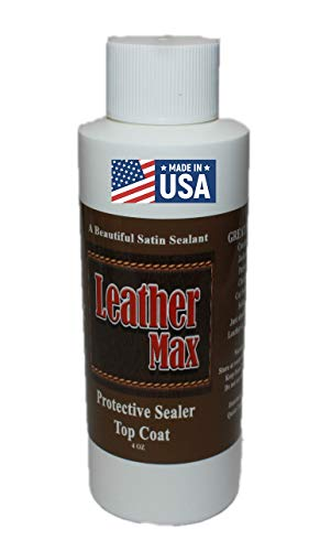 Leather Max Top Coat Satin Finish Sealer Use on Any Leather or After You Have Used Leather Refinish Color Restorer.