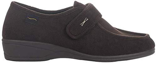 Doctor Cutillas 771 - Zapato Velcro Licra Marrón mujer, color marr?n, talla 35