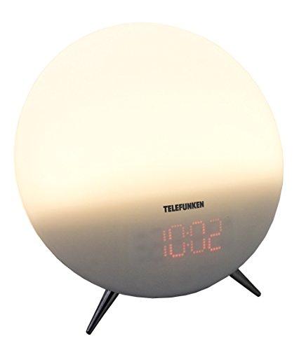 Telefunken R1006L Lichtwecker (PLL-Tuner, UKW-Radio, Dual Alarm, Aux-In, Wake-Up-Light)