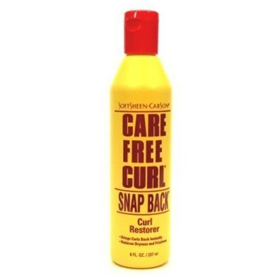 Care Free Curl Snap Back Curl Restorer 8 Ounce (235ml) (2 Pack)
