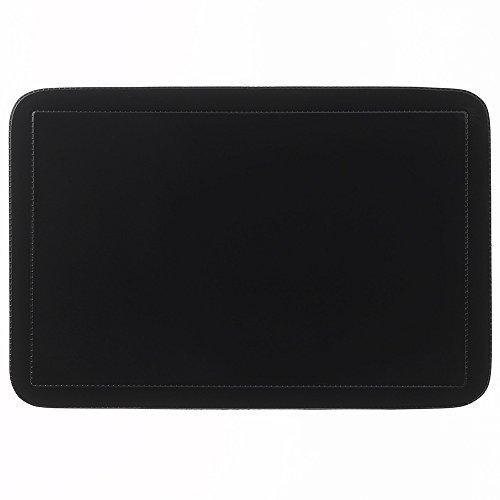 kela Tisch-Set Uni 43,5x28,5cm aus PVC in schwarz, Polyester, 43.5 x 28.5 x 1 cm