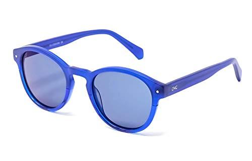 CHANCE - PIPER gafas de sol unisex - Edición Limitada (Azul mate, Gris espejado)