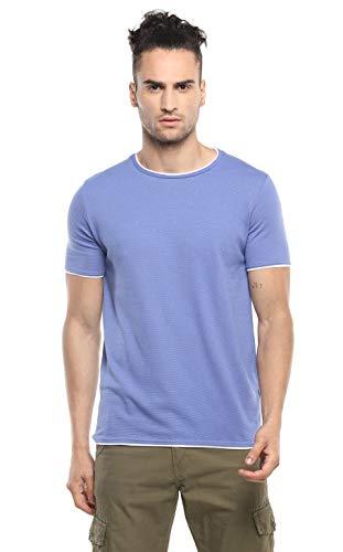 Alan Jones Clothing Double Collar Men's Round Neck T-Shirt
