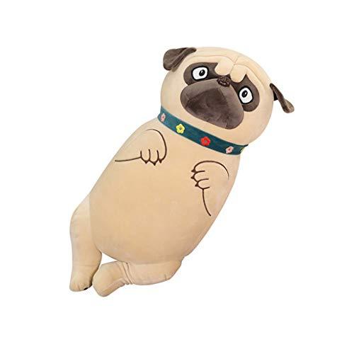 dagongji Super Soft Hugging Pillow, Cute Shar Pei Stuffing Home Decoration Skin-friendly Plush Toys 45 Cm