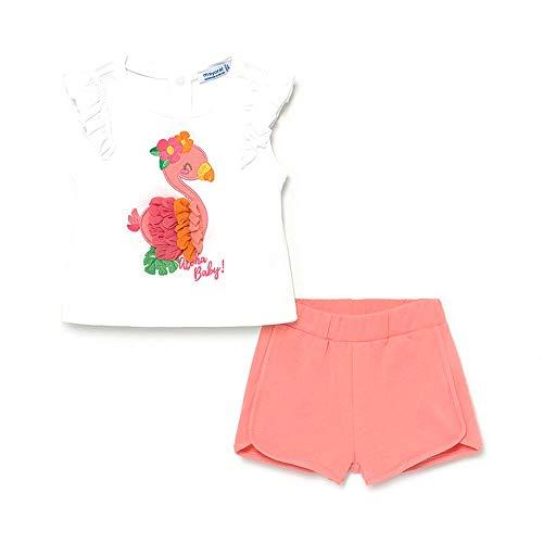 Mayoral Conjunto Camiseta Short Bebe niña (18 Meses)