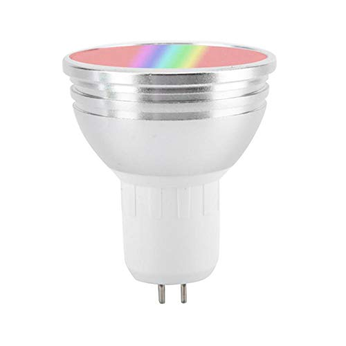 Tabanlly 6 W WiFi Smart Light Cup RGBW Dimmbar Smart Life/Tuya App E27 E26 GU10 GU5.3 B22 85-265 V WiFi-Lampe Kompatibel mit Alexa, Google Home und IFTTT, GU5.3
