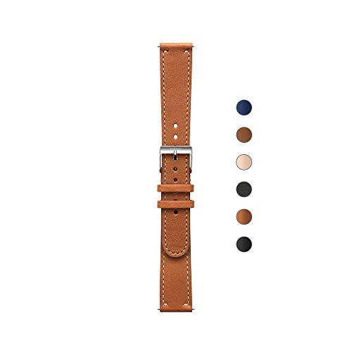 Withings Bracelet Cuir pour ScanWatch, Steel HR, Move ECG et Move