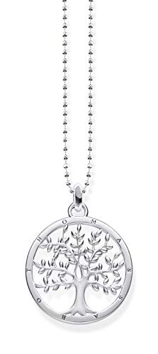 THOMAS SABO Damen-Kette Tree of Love Glam und Soul 925 Sterling Silber KE1660-001-21-L45v